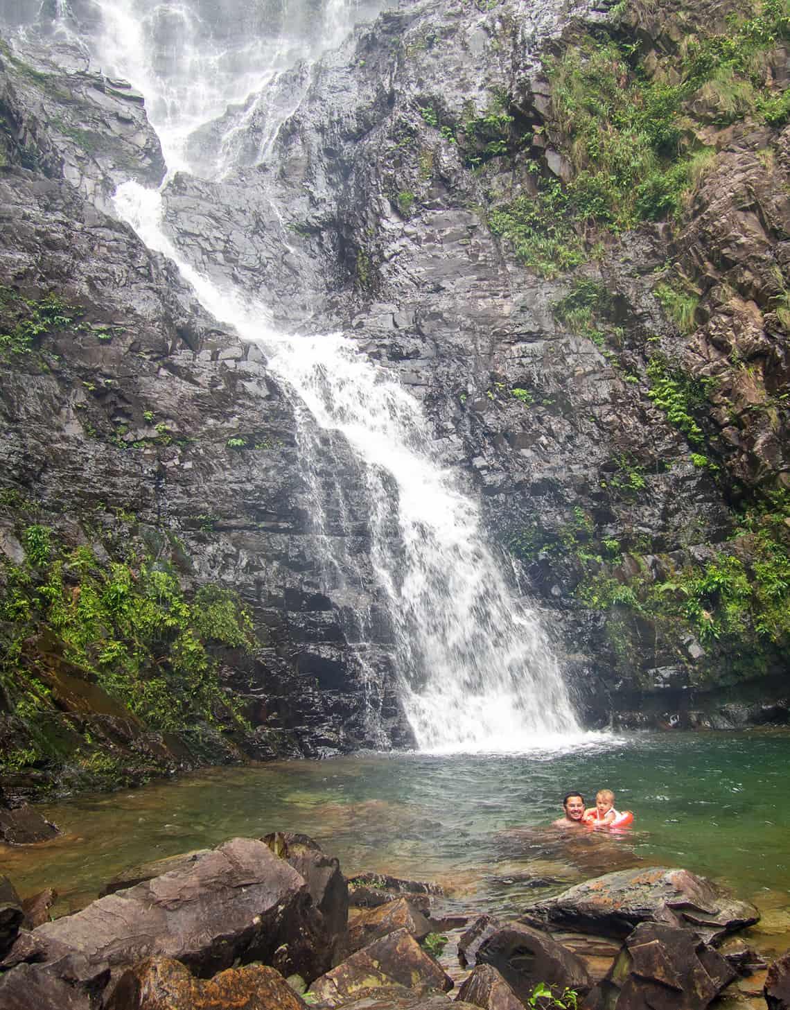 Temurun waterval