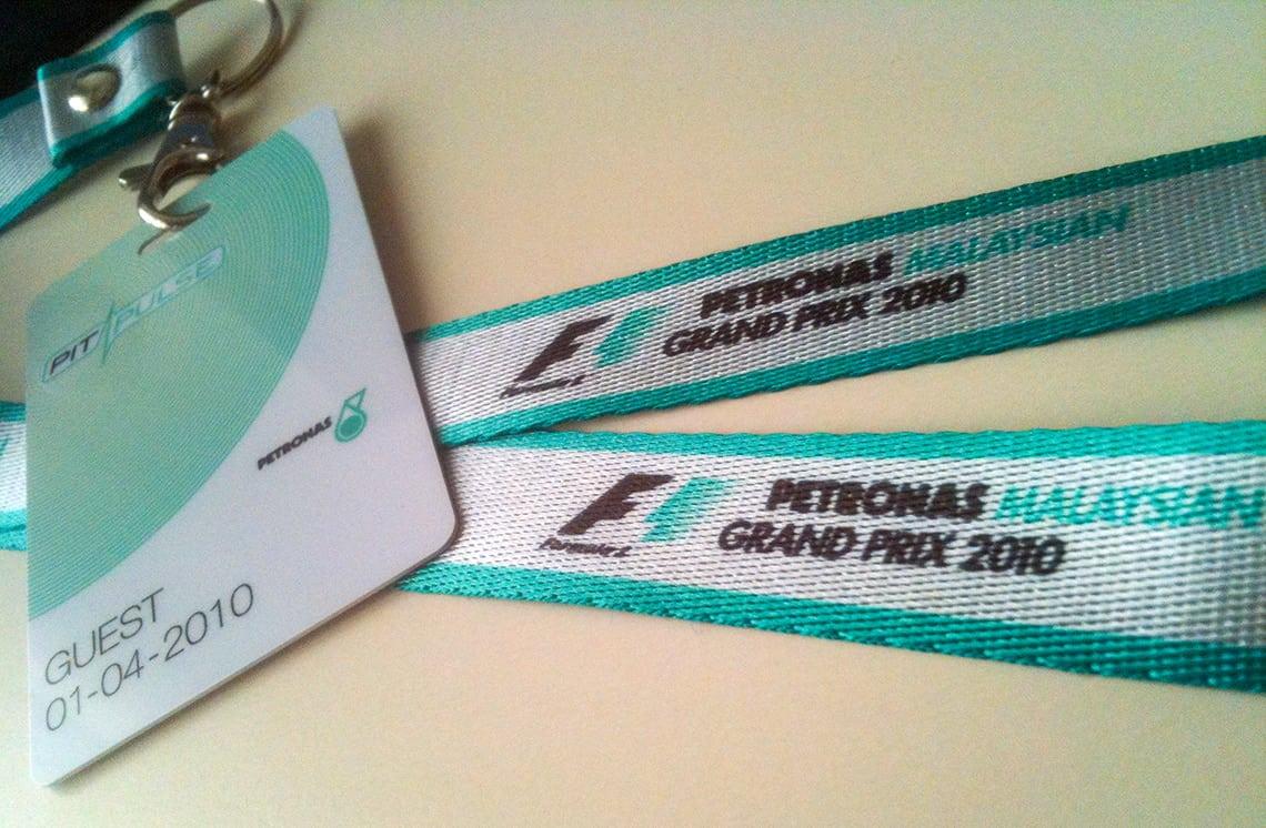 Events Formula 1 race Sepang
