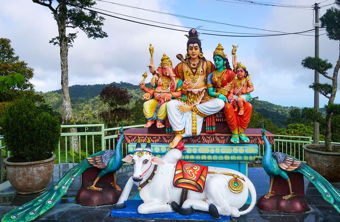 Indiase tempel Penang Hill
