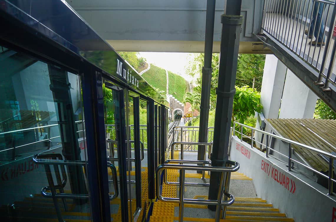 Treinstation Penang Hill