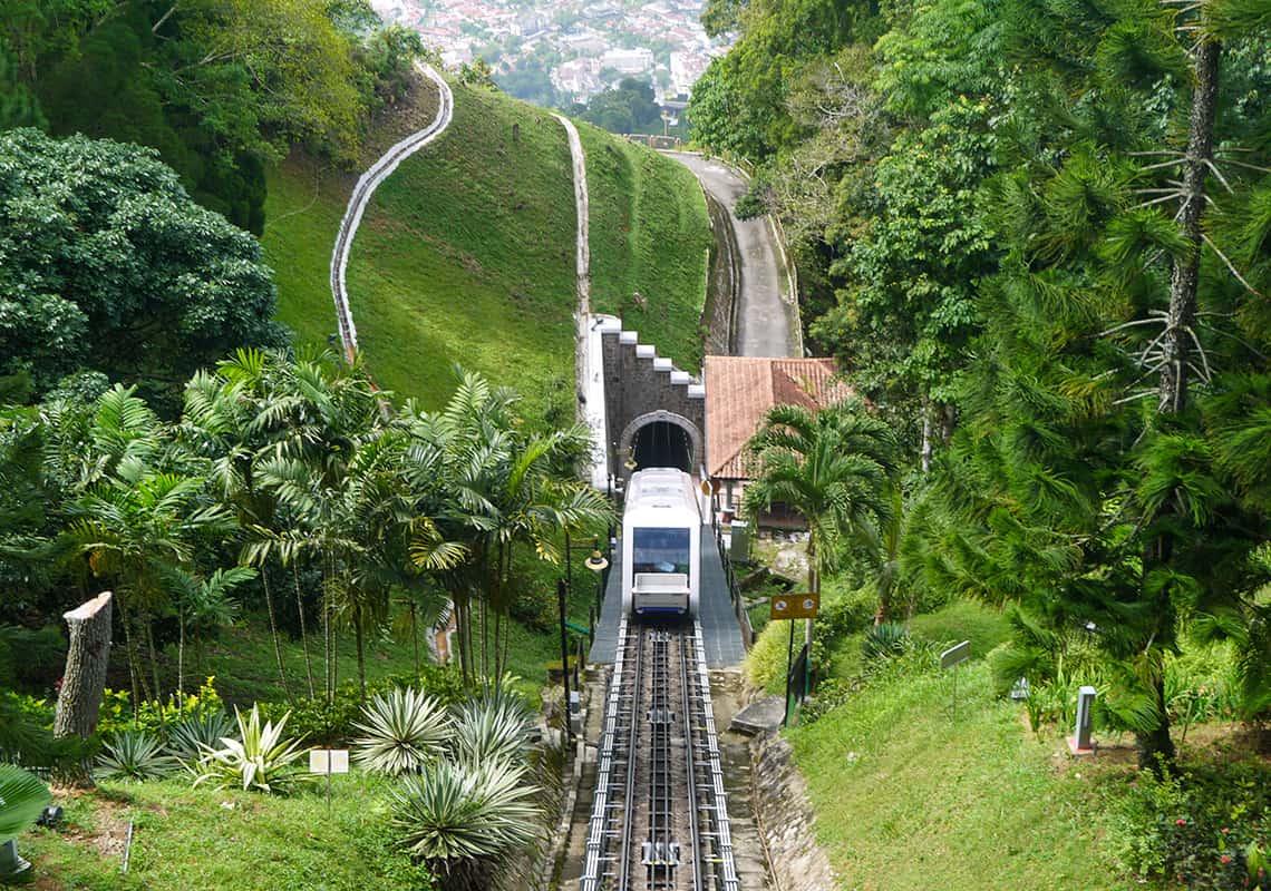 Trein Penang Hill