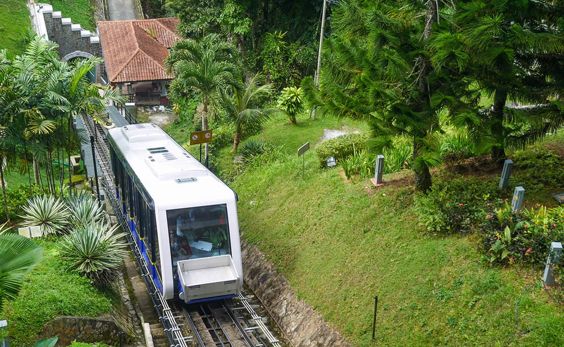 Funicular Penang Hill