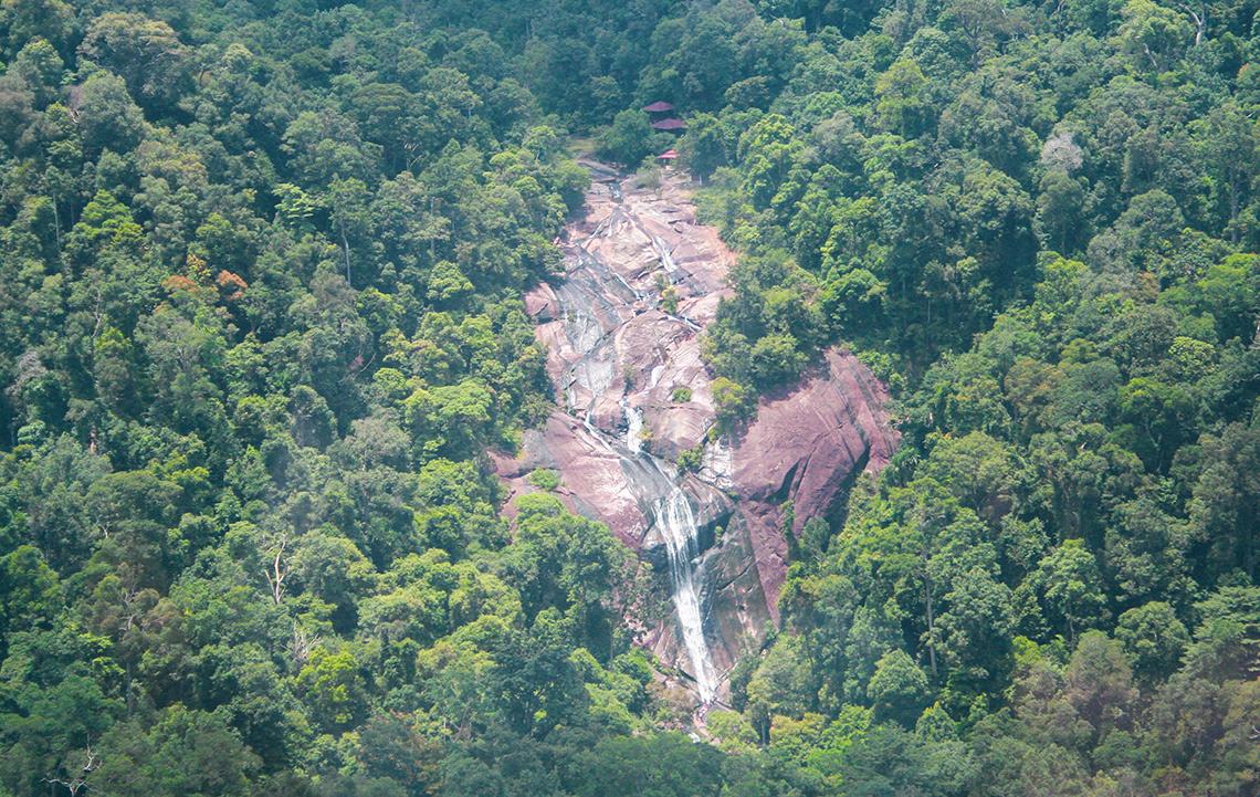Seven Wells waterval op Langkawi