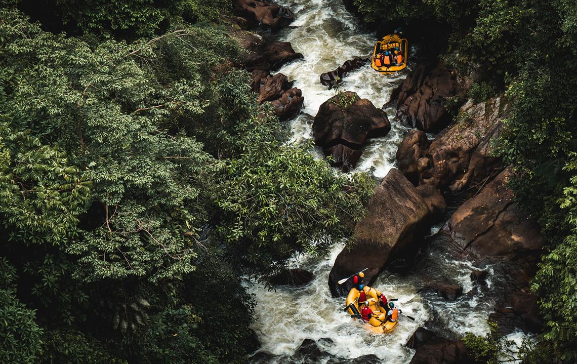 Rafting in Maleisie