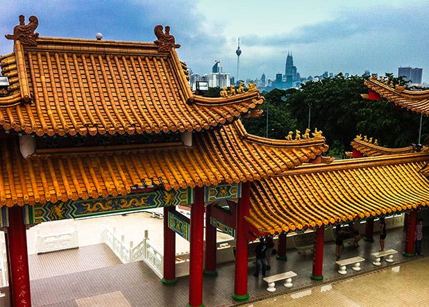 Thean Hou Tempel in Kuala Lumpur