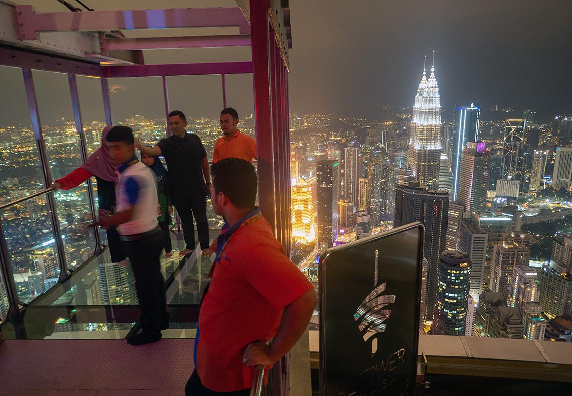 Menara KL Tower by Night
