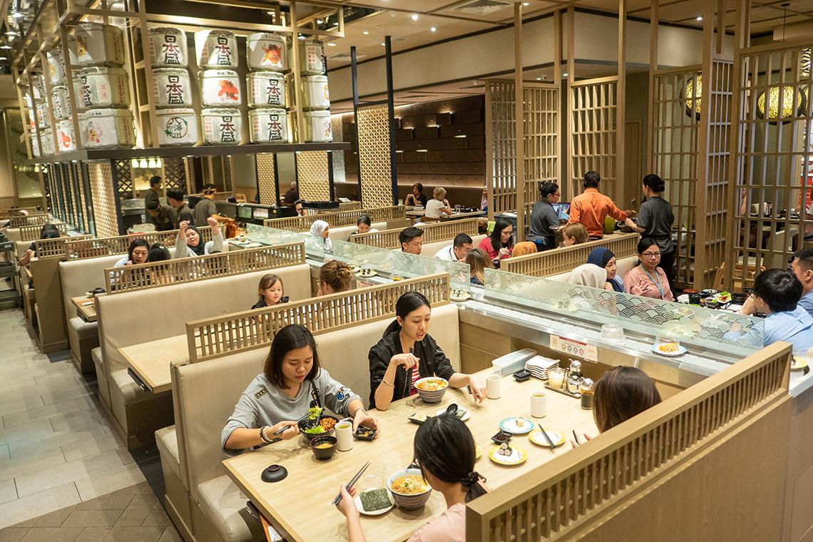 Heerlijke sushi bij Ichiban Boshi