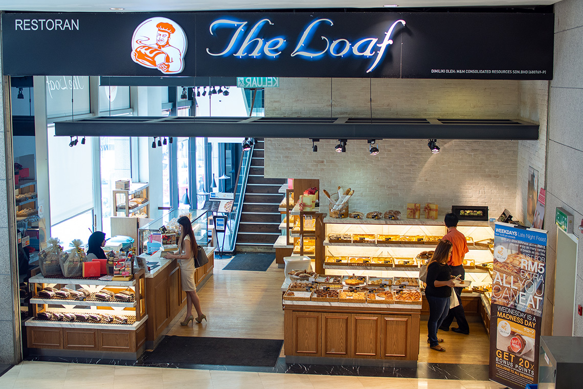 The Loaf Bakery Pavilion KL