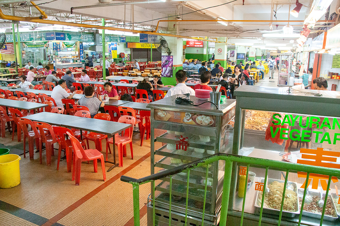 Sungei Wang foodcourt