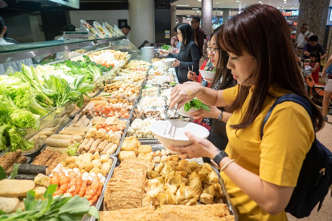 Foodcourt in Maleisie