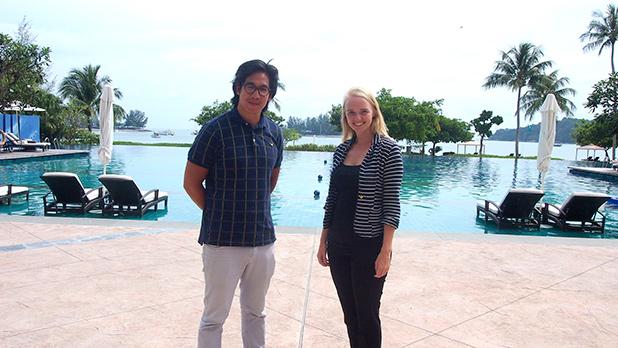 Timothy Kong en Sophia van Huijgevoort