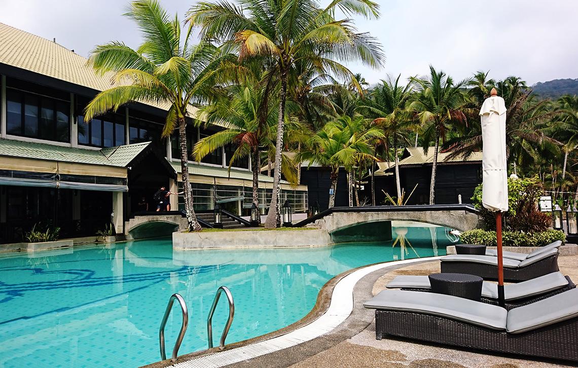 Zwembad The Taaras Beach Resort, Redang