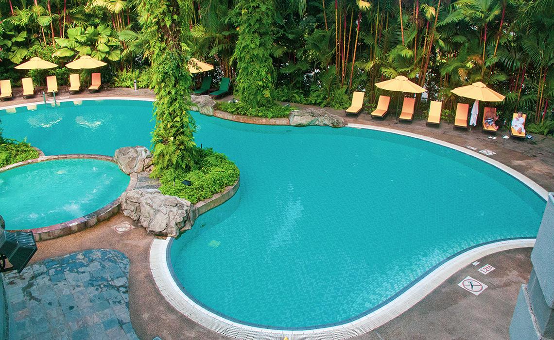 Zwembad Sama-Sama Hotel KLIA