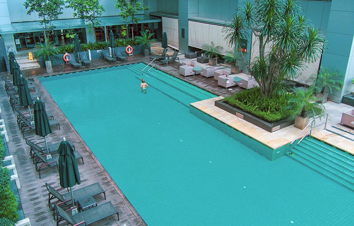 Doubletree by Hilton Kuala Lumpur Zwembad