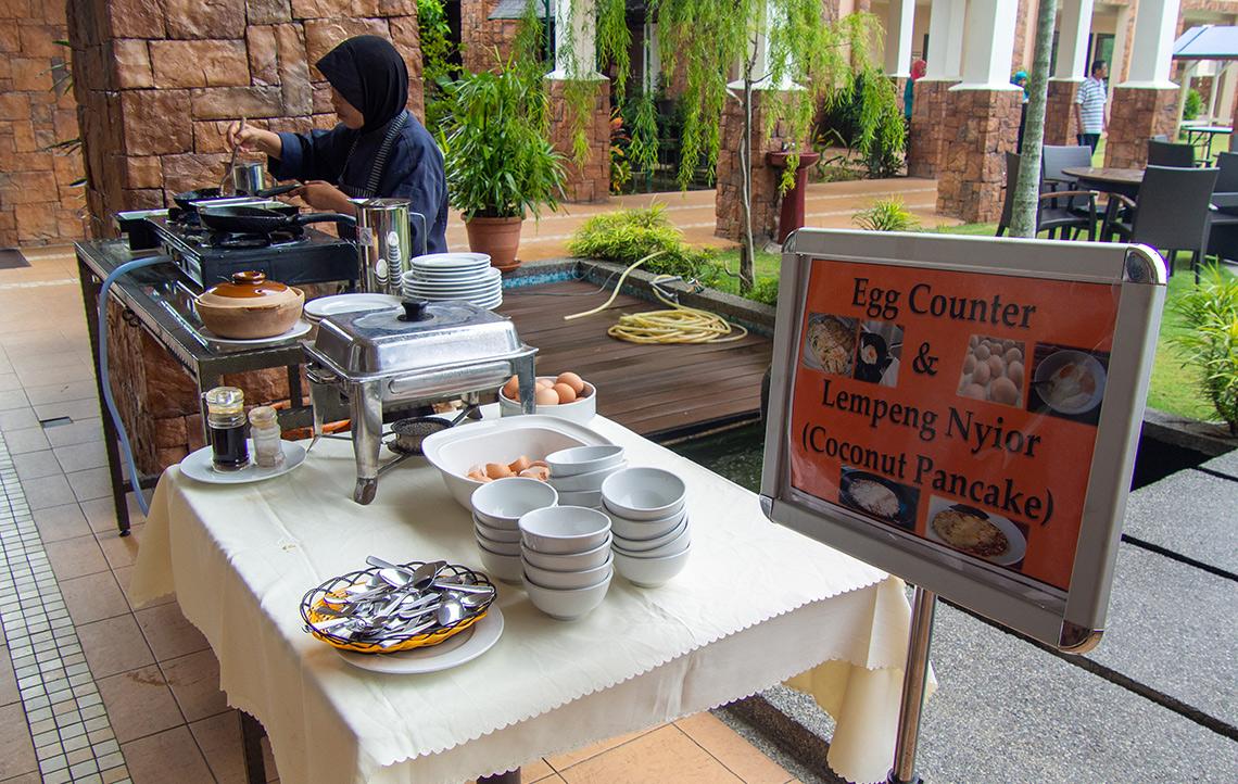 Tok Aman Bali Resort Ontbijt