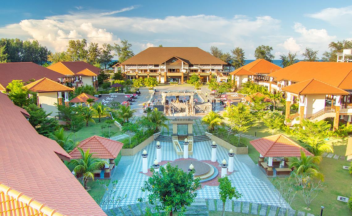 Tok Aman Bali Resort Zwembad