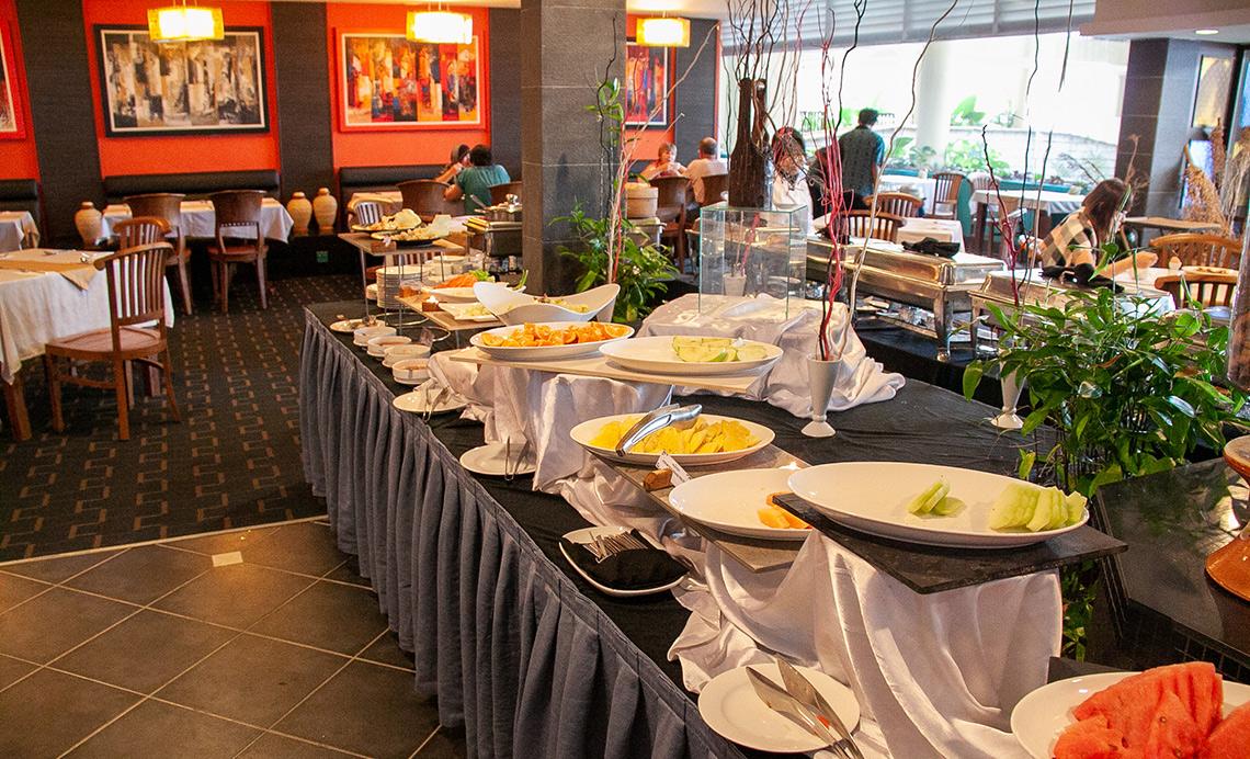 Damai Puri Resort Ontbijt