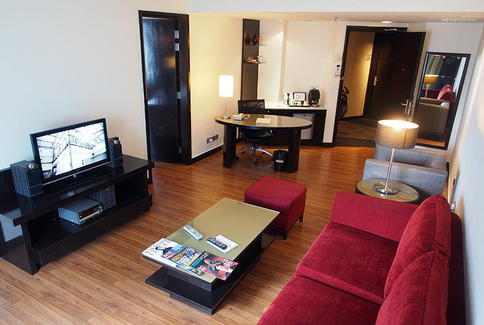 Onze suite in Novotel Kuala Lumpur