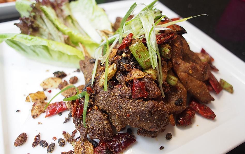 Qing Zhen vleesgerecht