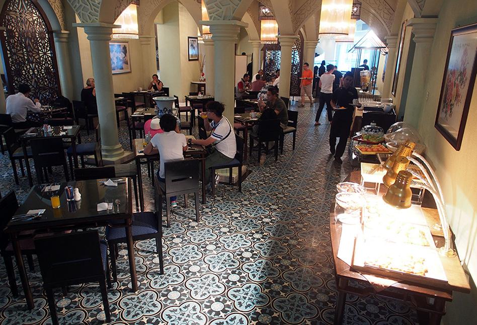 Fijn ontbijt in Novotel Kuala Lumpur