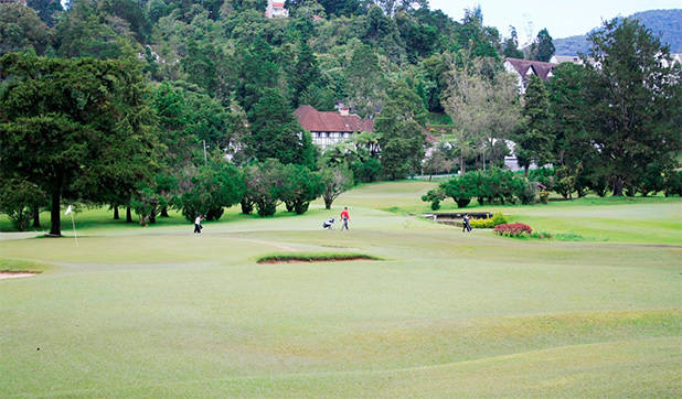 Golfbaan in Cameron Highlands