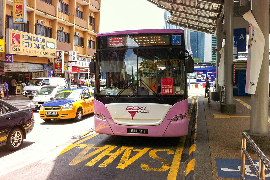 GOKL City Bus in Kuala Lumpur