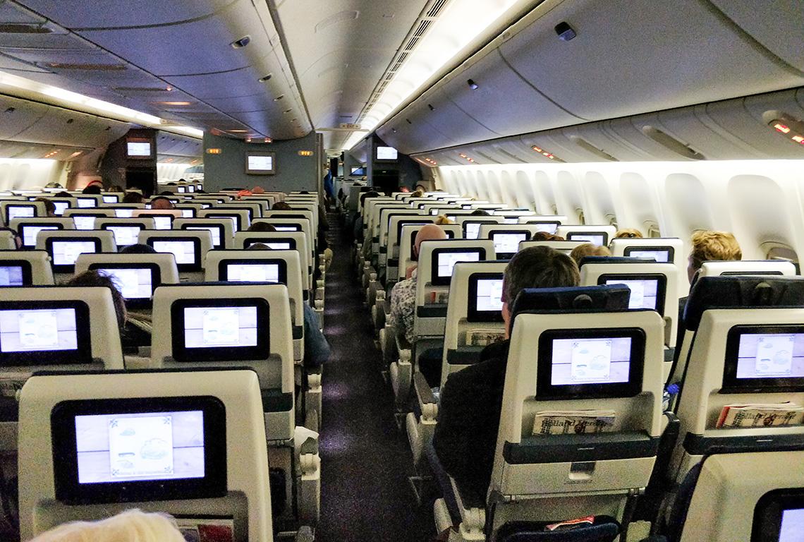 Internationale vliegtuigtickets