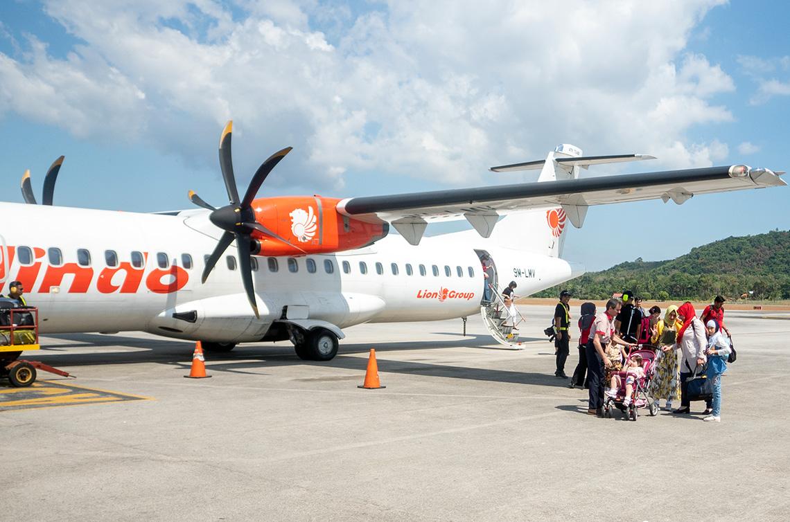 Binnenlandse vluchten in Maleisie