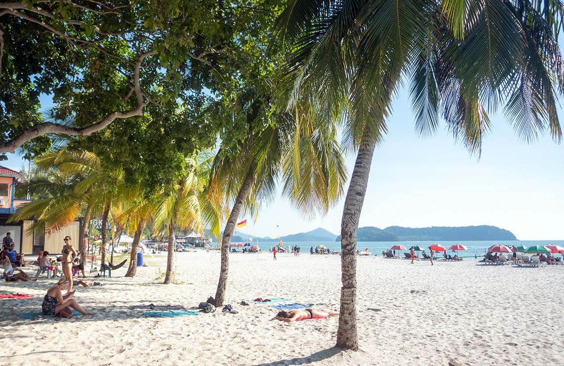 De perfecte stranddag in Maleisië