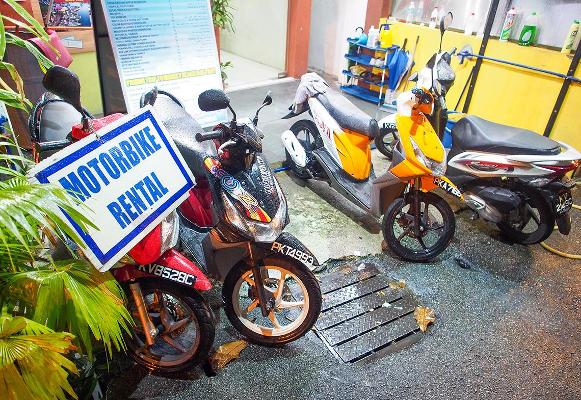 Tips voor het huren van een scooter in Maleisië