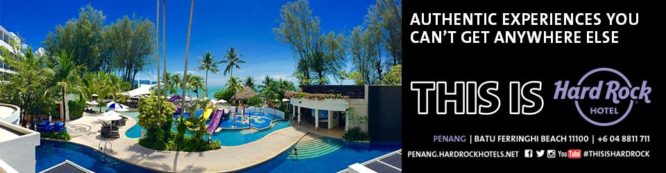 Boek een heerlijk verblijf bij Hard Rock Penang