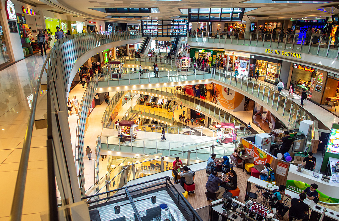 Nu Sentral Shopping Centre Kuala Lumpur